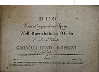 Rossini fromnntespizio